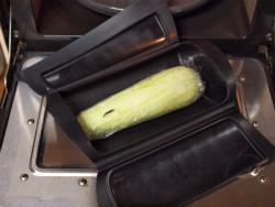 蒸し茄子と鰹のごまポン作り03