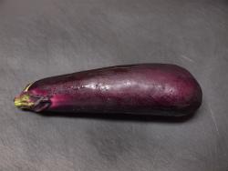 蒸し茄子と鰹のごまポン作り01