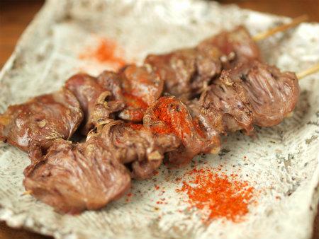 鶏ハツ串焼き23