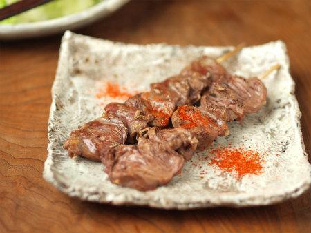 鶏ハツ串焼き12