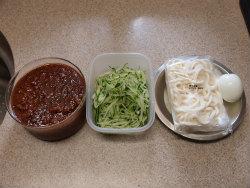 ジャージャー麺16