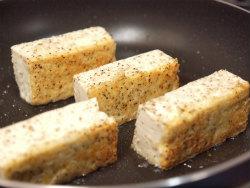 豆腐と茄子のステーキ15