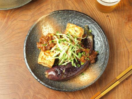 豆腐と茄子のステーキ32
