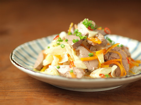 鶏肝オイル煮とキャベツ甘酢17