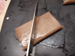 ブリあらと蒟蒻ピリ辛煮03