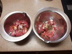 豚ヒレ肉照り焼き、塩焼06