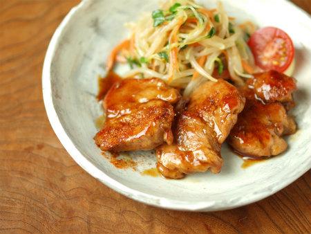 豚ヒレ肉照り焼き、塩焼49