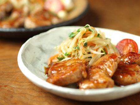 豚ヒレ肉照り焼き、塩焼55