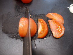 トマト焼きビーフン08