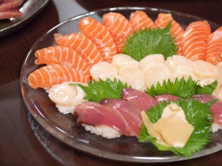 鰹のにぎり寿司26