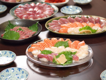 鰹のにぎり寿司24