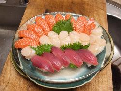 鰹のにぎり寿司20