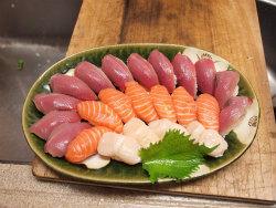 鰹のにぎり寿司21