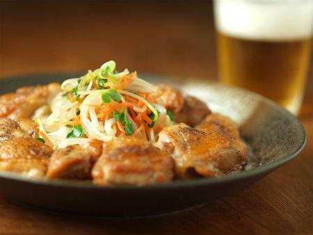 鶏の中華風甘酢炒め54