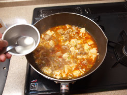 鶏マーボー豆腐15