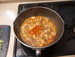 鶏マーボー豆腐13