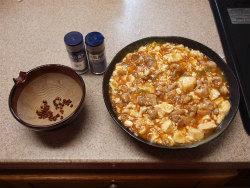 鶏マーボー豆腐17