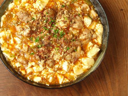 鶏マーボー豆腐26