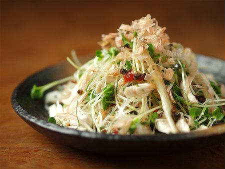 鶏ささみの焼味サラダ25