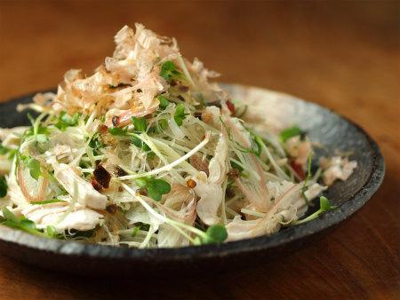 鶏ささみの焼味サラダ30