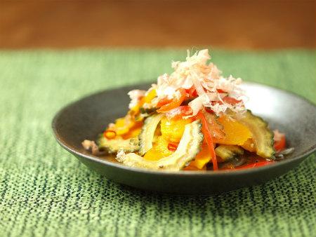 夏野菜の和風マリネ11