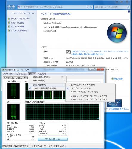 XEON E5-2603 NUMA2