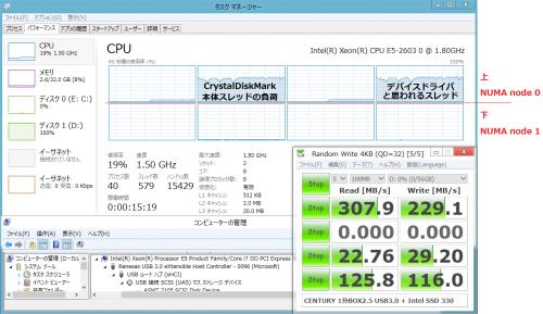 Renesas_D720200_4KQD32_0FILL_HOSTNODE0_CDMNODE0_コントローラをノード0にのみ接続_C