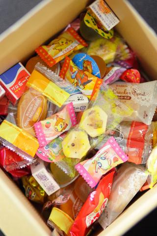 20130629お菓子のつかみ取り