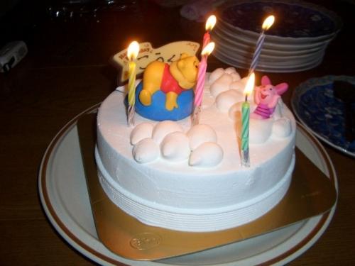 アイスクリームのケーキ