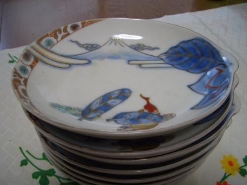 お正月の皿