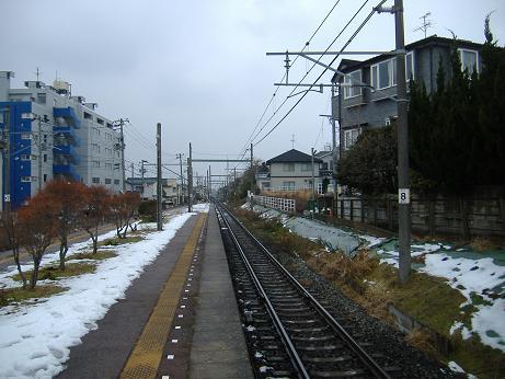 寺尾駅から20130113
