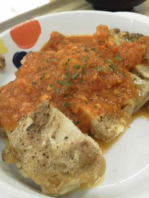 チキントマトガーリック by 松屋