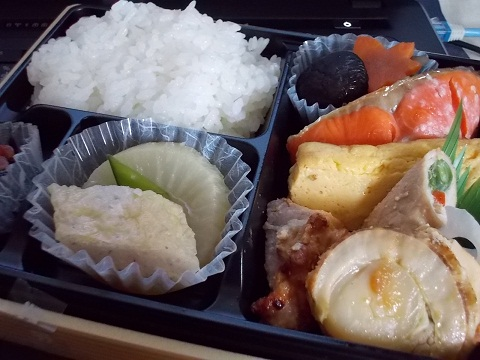 セブンイレブンの「こだわり米の幕の内御膳」(600円)