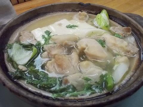 金田の鶏鍋