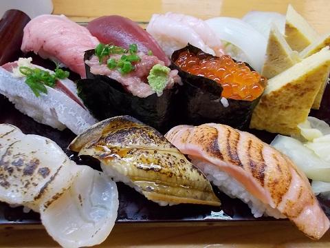 時、すでにお寿司