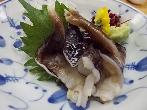 トリ貝の刺身