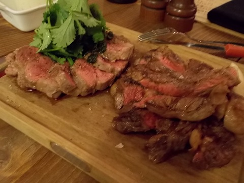 肉のツートップ