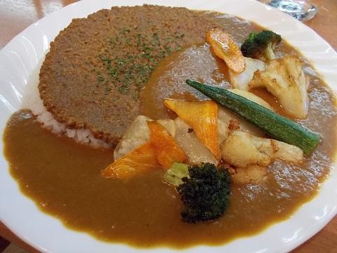 パク森野菜カレー