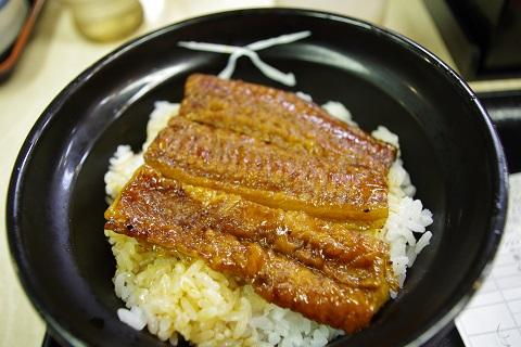 吉野屋の鰻丼