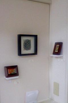 小さい絵の展示風景