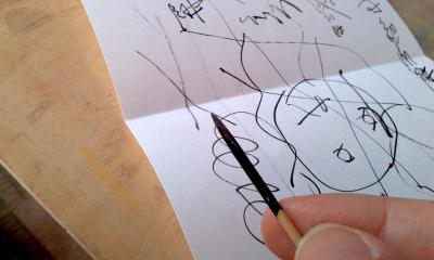 爪楊枝ペン
