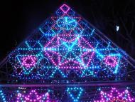 LEDの光のプレゼント