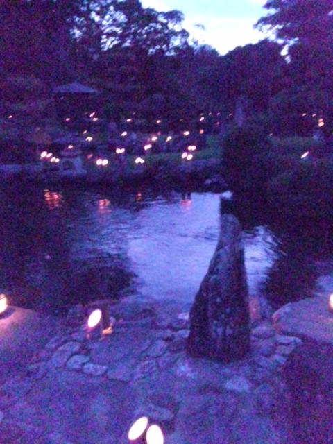 夜の天赦園2