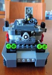LEGO装甲車1_フロントビュー