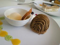 2012ラテとケーキ