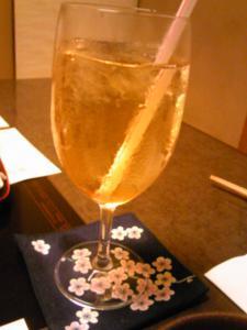 「梅ジュース」梅の花(福岡市)