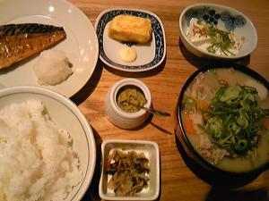 「豚汁定食」わっぱ定食堂(福岡市)