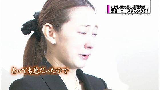 通夜で見せた北川景子のすっぴん画像