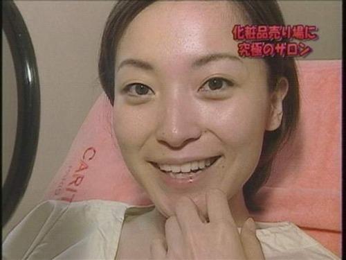 大江麻理子のすっぴん画像1