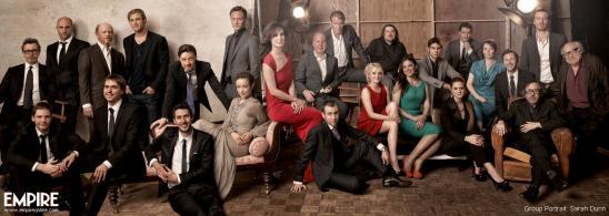 Empire Awards 2012 Group Portrait